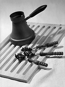 Tri šalice kave prije mlinčeka  - © Janko Belaj