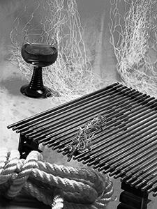 Riba na gradele prije bacanja mreža  - © Janko Belaj