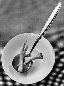 Kokošja juhica prije kuhanja  - © Janko Belaj