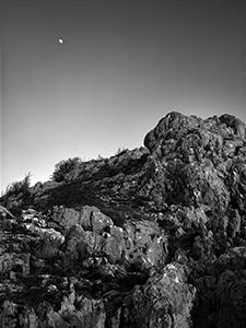 Luna ponad Biokova  - © Janko Belaj