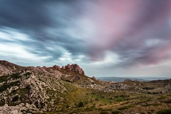 Zalazak u Tulovim gredama  - © Janko Belaj