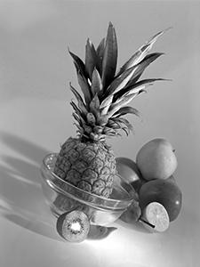 Voćna salata prije rezanja  - © Janko Belaj